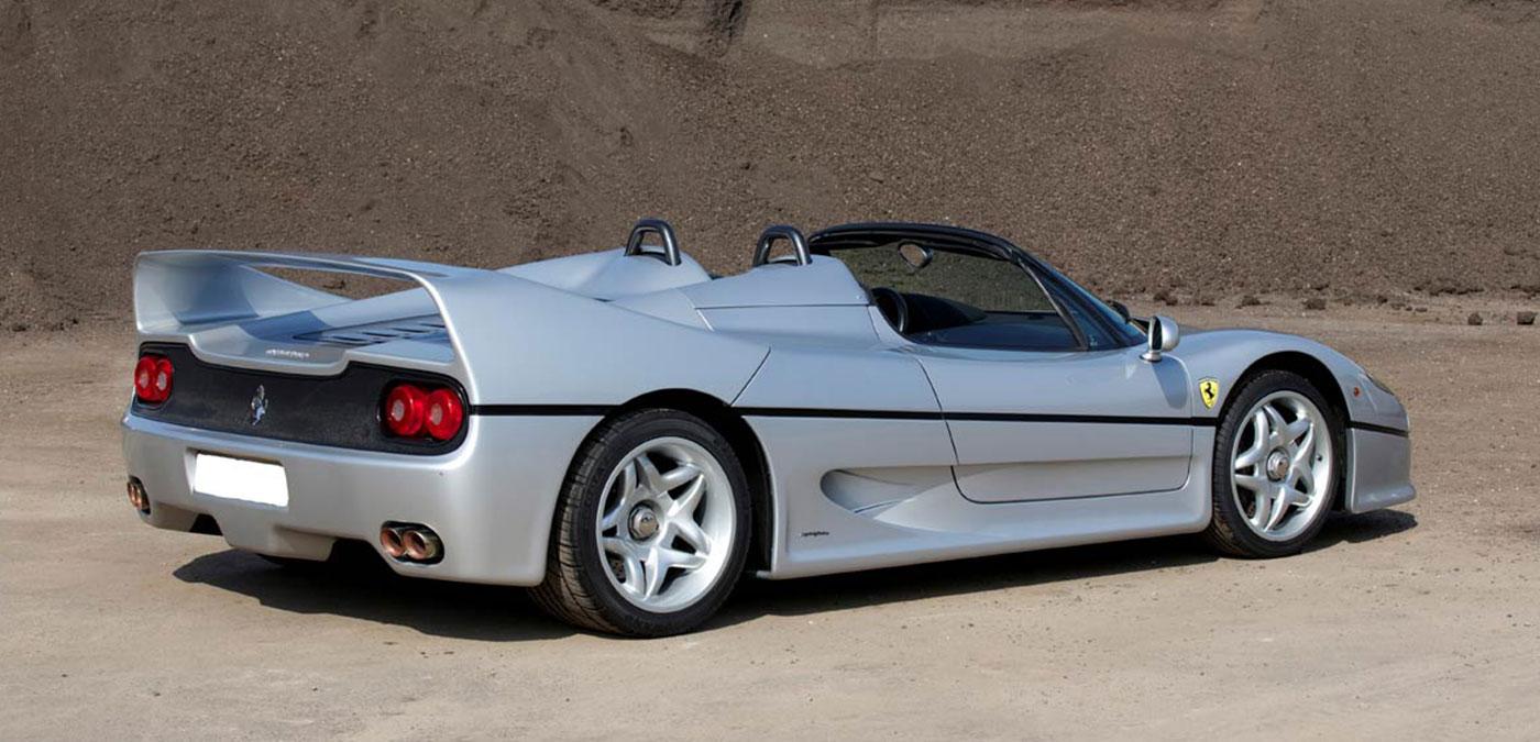 Opumo The World S Finest Ferrari F50 Argento