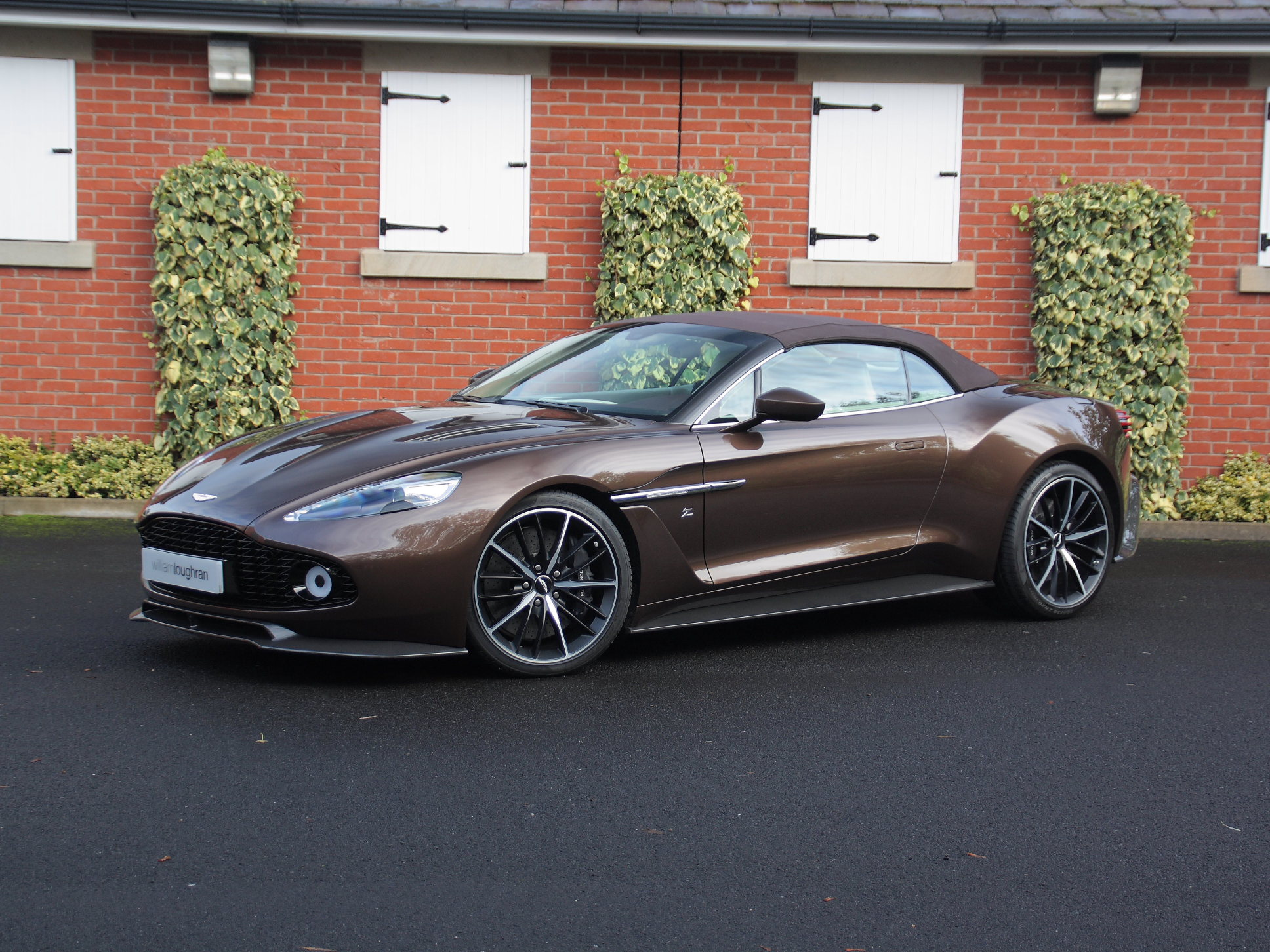 Aston Martin Vanquish Zagato Volante Number 69 Of 99